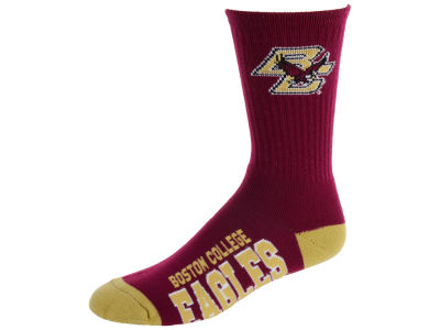 Boston College Eagles For Bare Feet Deuce Crew 504 Socks