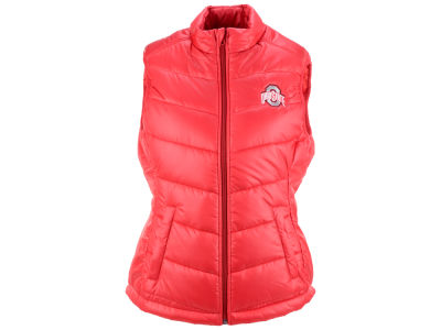 Ohio State Buckeyes NCAA Women's Double Quilted Vest