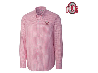 Ohio State Buckeyes NCAA Tattersall Button Down Shirt