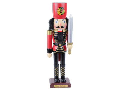 Chicago Blackhawks Team Nutcracker