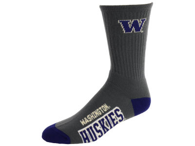 Washington Huskies Deuce Crew 504 Socks