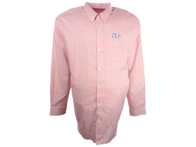 Ole Miss Rebels NCAA Tattersall Button Down Shirt