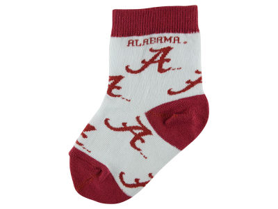 Alabama Crimson Tide All Over Toddler Socks