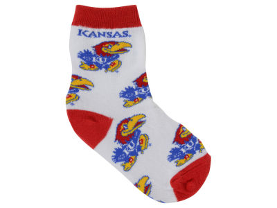 Kansas Jayhawks All Over Toddler Socks