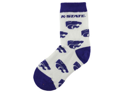 Kansas State Wildcats For Bare Feet All Over Toddler Socks