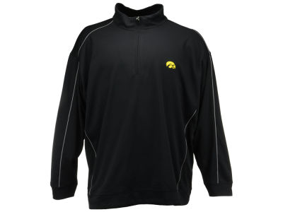 Iowa Hawkeyes NCAA Men's Edge Big Half Zip Pullover Shirt