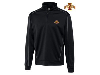 Iowa State Cyclones NCAA Men's Edge Big Half Zip Pullover Shirt