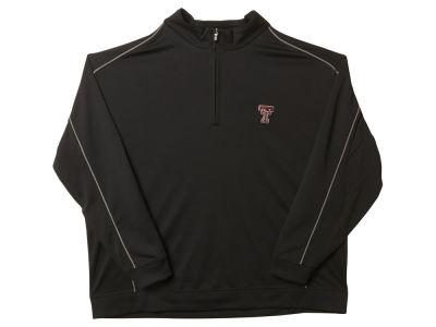 Texas Tech Red Raiders NCAA Men's Edge Big Half Zip Pullover Shirt