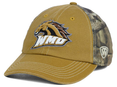 Western Michigan Broncos Top of the World NCAA Dirty Camo Cap