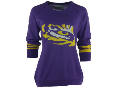 LSU Tigers NCAA Women's Logo Sweater