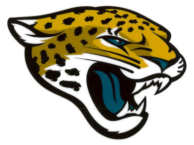 Jacksonville Jaguars Shield Static Cling Decal