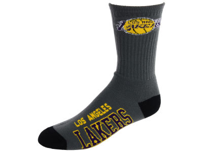 Los Angeles Lakers Deuce Crew 504 Socks