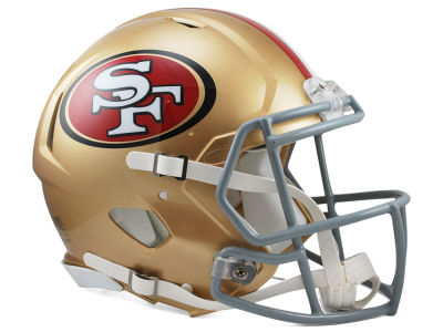 San Francisco 49ers Speed Authentic Helmet