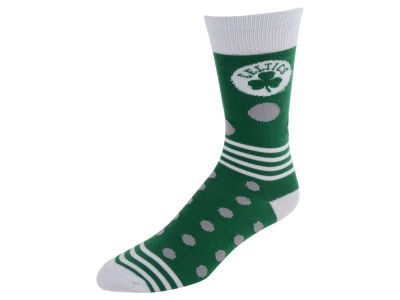 Boston Celtics Dots and Stripes Sock