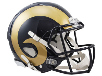 Los Angeles Rams Speed Authentic Helmet