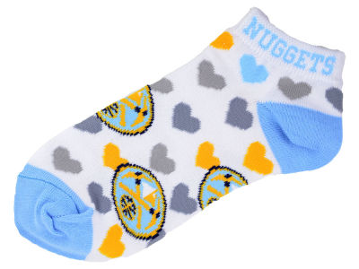 Denver Nuggets Lady Heart Logo Repeat Sock