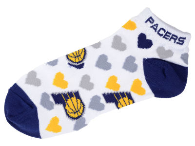 Indiana Pacers Lady Heart Logo Repeat Sock