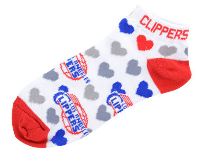 Los Angeles Clippers Lady Heart Logo Repeat Sock