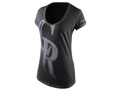 Colorado Rockies Nike MLB Women's Boyfriend T-Shirt