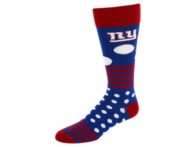 New York Giants Dots and Stripes Sock