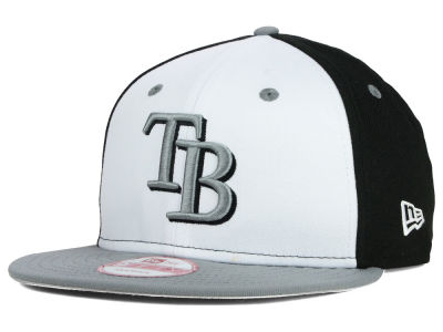 Tampa Bay Rays New Era MLB Front Base 9FIFTY Snapback Cap