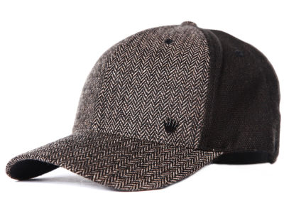 No Bad Ideas Herringbone Front Flex Cap