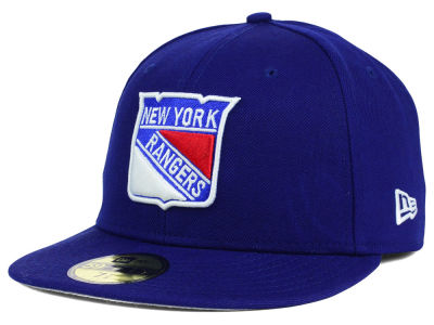 New York Rangers New Era NHL Basic 59FIFTY Cap