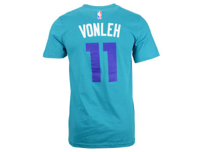 Charlotte Hornets Noah Vonleh adidas NBA Men's Player T-Shirt