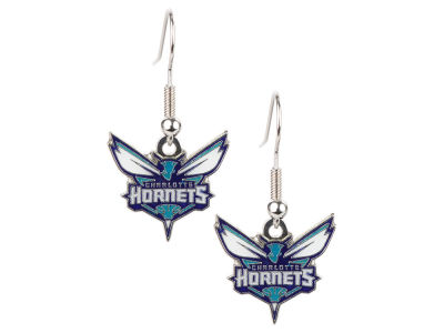 Charlotte Hornets Logo Earrings