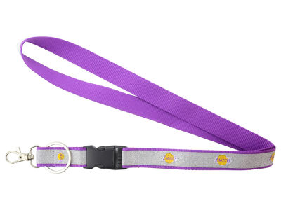 Los Angeles Lakers Sparkle Lanyard-Aminco