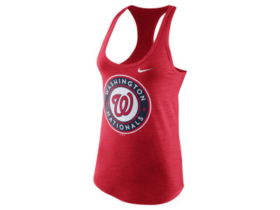 Washington Nationals Nike MLB Women's Tri Blend Tank