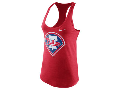 Philadelphia Phillies Nike MLB Women's Tri Blend Tank