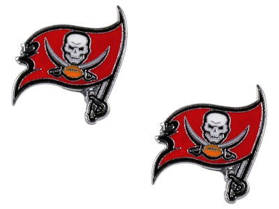 Tampa Bay Buccaneers Logo Post Earrings