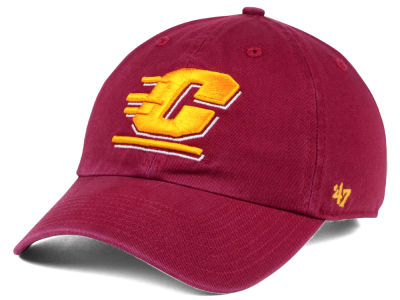 Central Michigan Chippewas '47 NCAA '47 CLEAN UP Cap