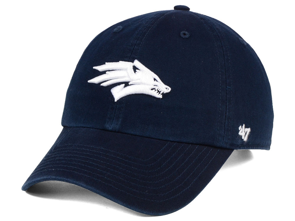 nevada wolf pack 47 ncaa 47 clean up cap