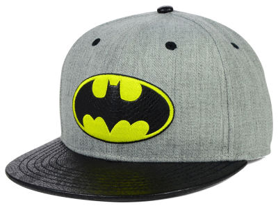 DC Comics Batman Faux Snake Visor Adjustable Hat