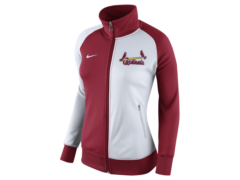 St. Louis Cardinals Nike MLB Women s Cooperstown Track Jacket  be4039a53