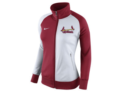St. Louis Cardinals Nike MLB Women's Cooperstown Track Jacket