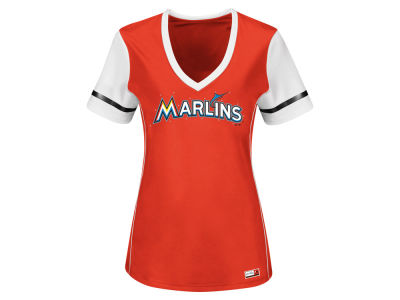 Miami Marlins MLB Women's Curveball Babe T-Shirt