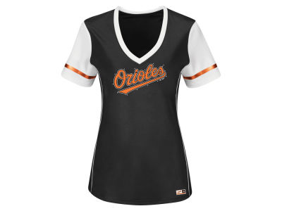Baltimore Orioles MLB Women's Curveball Babe T-Shirt