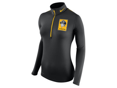 Pittsburgh Pirates Nike MLB Women's Cooperstown Element Half Zip Pullover Shirt