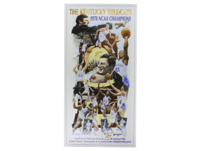 Kentucky Wildcats 1978 National Championship Team Poster