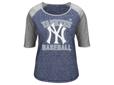 New York Yankees MLB Women's Break Out Season Raglan T-Shirt
