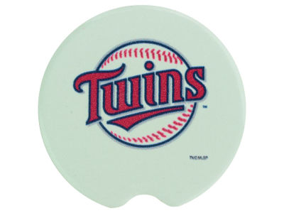 Minnesota Twins 2 Pack Car Coasters