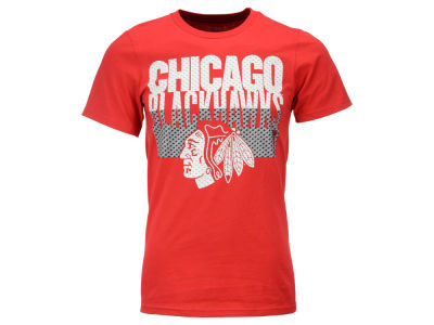 Chicago Blackhawks Reebok NHL Men's Split Time T-Shirt