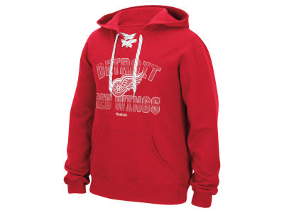 Detroit Red Wings Reebok NHL Men's Resurfaced Hoodie