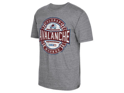 Colorado Avalanche Reebok NHL Men's Game Tested T-Shirt