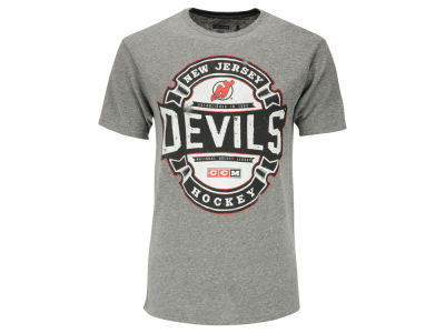 New Jersey Devils Reebok NHL Men's Game Tested T-Shirt