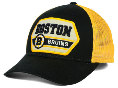 Boston Bruins Reebok NHL Patched Trucker Cap