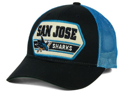 San Jose Sharks Reebok NHL Patched Trucker Cap